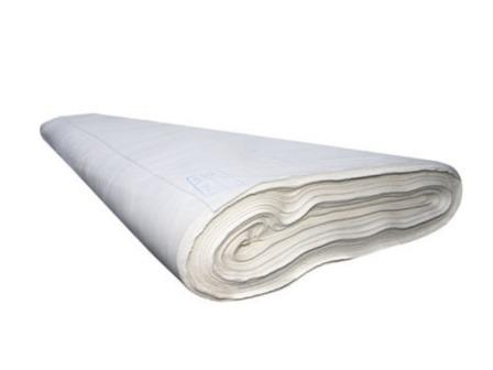 Ткань бязь отбеленная 80 см пл. 100 гр/м2 разряженная