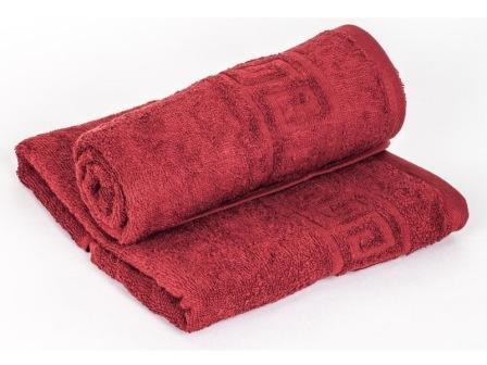 Большое махровое полотенце 100х150 ФЭ гладкокрашеное