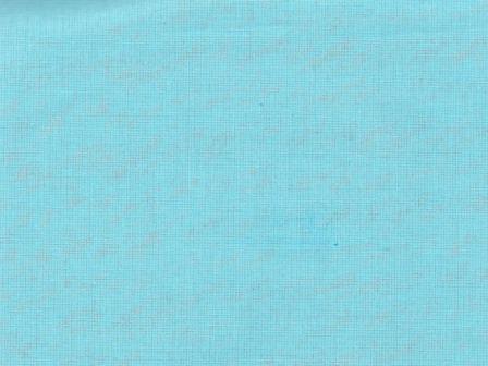 Ткань бязь однотонная гладкокрашеная пл 100 гр/м2 ширина 150 см бирюзовая
