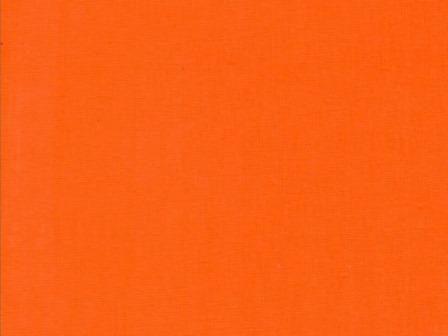 Ткань бязь однотонная гладкокрашеная оранжевая цвет 29