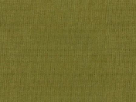 Ткань бязь однотонная гладкокрашеная хаки цвет 36