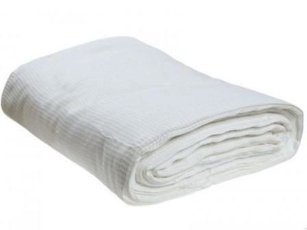 Ткань вафельное полотно техническое отбеленное 80 см 200 гр