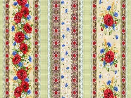 Ткань вафельное полотно для полотенец 18773 вид 1