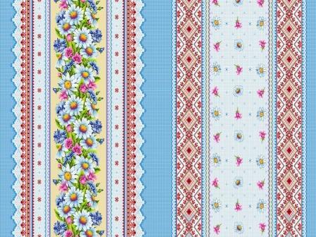 Ткань вафельное полотно для полотенец 18828 150 гр/м2 150см ТХ