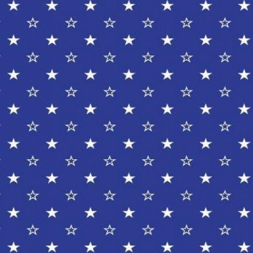 Поплин синие звезды арт. 1907