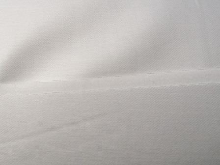 Сатин гладкокрашенный белый 240см 140 гр